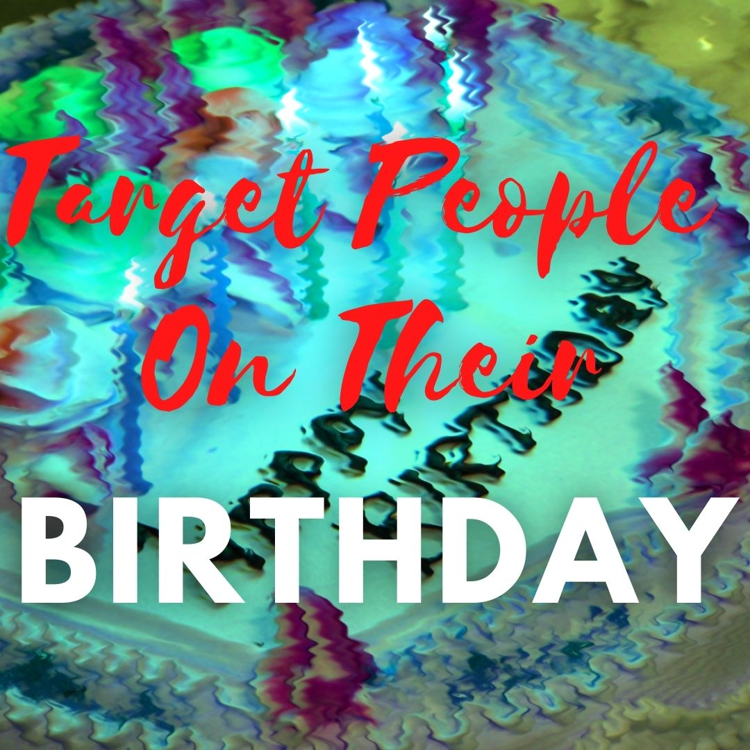 Facebook Birthday Ads